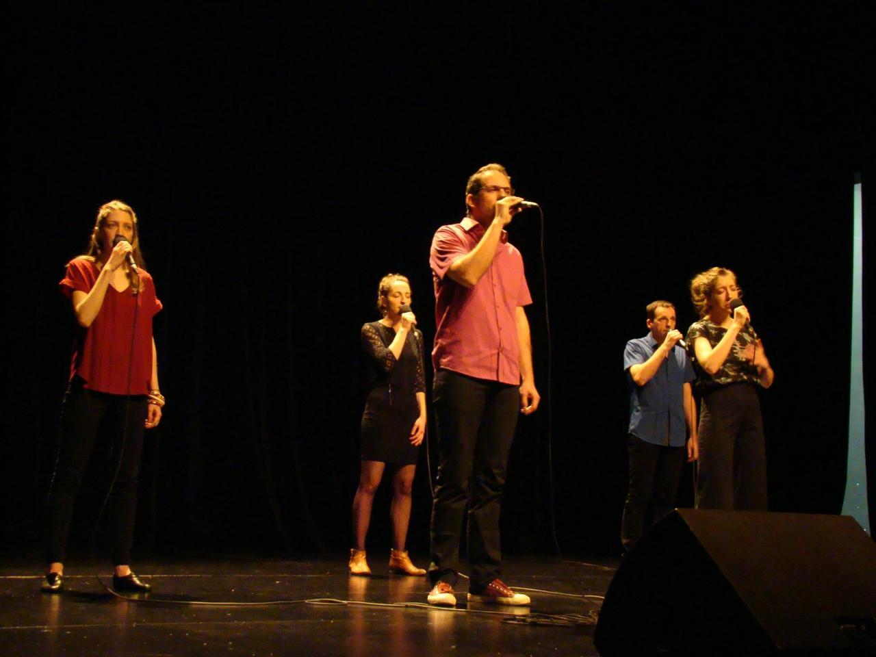 Les Sparkling voices